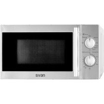 SVAN SVMW720GX microondas Countertop (placement) Microondas con grill 20 L 700 W Acero inoxidable