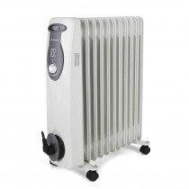 Orbegozo RA 2500 E calefactor eléctrico Radiador de aceite eléctrico Interior Gris 2500 W