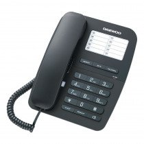 Daewoo DTC 240 Teléfono analógico Negro teléfono