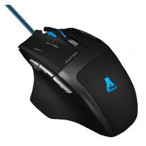 The G-Lab Kult#100 ratón USB Óptico 3200 DPI mano derecha