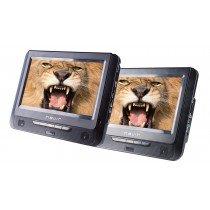 """Nevir NVR-2776DVD-PDCU reproductor de dvd/bluray portátiles Reproductor de DVD portátil Montado en pared Negro 22,9 cm (9"""") 800 x 480 Pixeles"""
