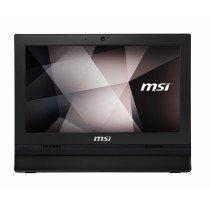 "MSI Pro 16T 7M-023XEU 39,6 cm (15.6"") 1366 x 768 Pixeles Pantalla táctil Intel® Celeron® 4 GB DDR4-SDRAM 500 GB Unidad de disco duro Wi-Fi 5 (802.11ac) Negro PC todo en uno"