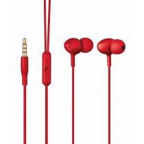 Trust Ziva Dentro de oído Binaural Alámbrico Rojo auriculares para móvil