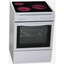 ROMMER CVH 63 Cocina independiente Blanco Con placa de inducción