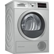 Bosch Serie 6 WTG8729XEE secadora Independiente Carga frontal Acero inoxidable 9 kg A++