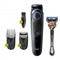 Braun 81705170 depiladora para la barba Negro, Azul