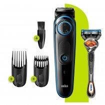 Braun Base 81705170 depiladora para la barba Negro, Azul