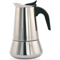 Orbegozo KFI 1260 manual coffee maker Moka pot Negro, Acero inoxidable
