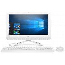 """HP 20 -c409ns 49,5 cm (19.5"""") 1920 x 1080 Pixeles 7.ª generación de APU AMD Serie A4 4 GB DDR4-SDRAM 1000 GB Unidad de disco duro Wi-Fi 5 (802.11ac) Blanco PC todo en uno Windows 10 Home"""
