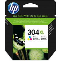 HP 304XL Original Alto rendimiento (XL) Cian, Magenta, Amarillo
