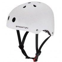 Brigmton BH-1B-B Medio casco Blanco