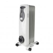 Orbegozo RA 1000 E calefactor eléctrico Interior Gris 1000 W Radiador de aceite eléctrico