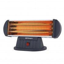 Orbegozo BP 0204 calefactor eléctrico Quartz electric space heater Interior Negro 1200 W