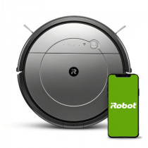 iRobot Roomba Combo aspiradora robotizada 0,45 L Bolsa para el polvo Negro, Gris