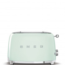 Smeg TSF01PGEU tostadora 2 rebanada(s) 950 W Verde