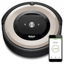 iRobot Roomba e5152 aspiradora robotizada Sin bolsa Negro, Copper colour