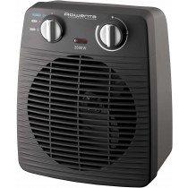 Rowenta Classic Calentador de ventilador Interior Negro