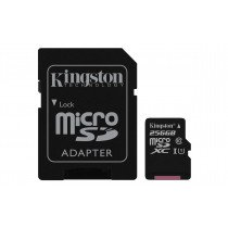 Kingston Technology Canvas Select memoria flash 256 GB MicroSDXC Clase 10 UHS-I