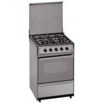 Meireles G 2540 V Cocina independiente Acero inoxidable Encimera de gas