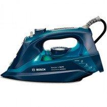 Bosch TDA703021A plancha Plancha a vapor Suela Ceranium Glissée Azul 3000 W