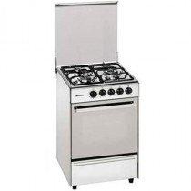Meireles G 2302 DV Cocina independiente Blanco Encimera de gas