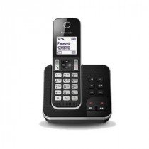 Panasonic KX-TGD320 Teléfono DECT Negro, Plata Identificador de llamadas