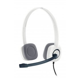 Logitech H150 Stereo Headset Auriculares Diadema Blanco