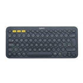 Logitech K380 teclado Bluetooth QWERTY Español Gris