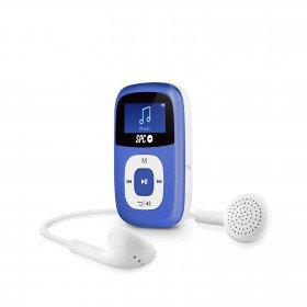SPC Sparrow Reproductor de MP3 Azul 4 GB