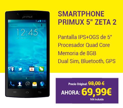 Oferta SmathPhone Primux 5